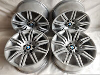 R19 Genuine OEM BMW E60 Msport Alloys - Styling 172 - Spyders