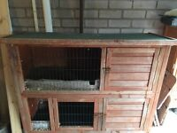 Two tier guinea pig/ rabbit hutch for sale