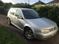 Golf TDI 2003. Failed MOT and now sorned. £500
