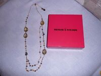 STYLISH NEW BUTLER AND WILSON NECKLACE, (UNWANTED GIFT)