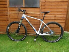 GIANT XTC CARBON FIBRE MOUNTAIN BIKE NEW UNUSED DUE TO NEW HOBBY FISHING