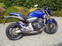 2008 Honda Hornet CB600FA. ABS, linked brakes, 18,250 miles, MOT, Zenon Blue, excellent condition.