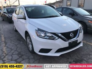 2017 Nissan Sentra 1.8 SV | ONE OWNER | ROOF | CAM | HEATED SEAT