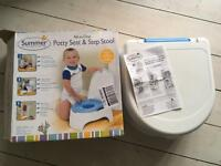 Summer infant Potty Seat & Step Stool