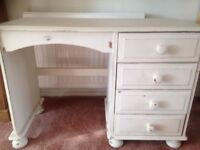 Beautiful shabby chic dressing table, professionally chalk painted