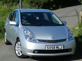 LOW MILEAGE! (2008) TOYOTA PRIUS T SPIRIT VVT-I Hybrid Automatic + FSH + Excellent condition