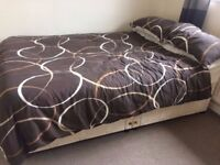 Queen Size Bed w/drawers - Free to Collect