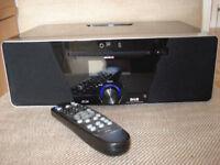 Roberts MP Sound 53 Radio as new condition, CD DAB, FM, Clock, Alarm, Station Presets, I Phone Dock