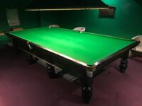 Full size snooker table and all the trimmings **MINT CONDITION**
