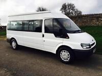 Ford Transit 15 Seater Minibus - Only 85k Miles