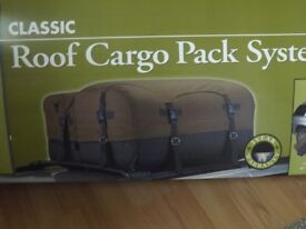 Roof Cargo Pack System and roof bars