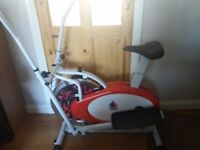 Cross trainer for sale. Brand gym master. Good condition.