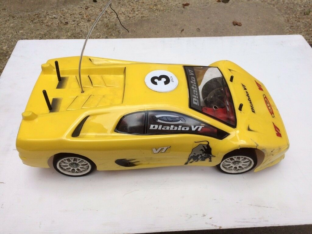 Tamiya Remote Controlled Racing Car - Used in Carry Box - Ideal for an Enthusiast to use