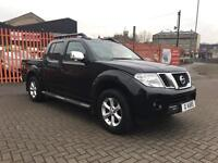 2012 (62) Nissan Navara 2.5 DCI Tekna (190) Auto 4x4 Double Cab Pick up / 40 K FSH / Fully Loaded
