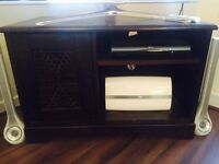 TV Stand, fits up to 55inch TV, space for DVD and Sky Box and Sub