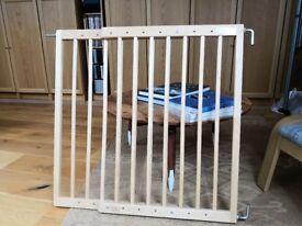 Used Lindan Real wood baby gate