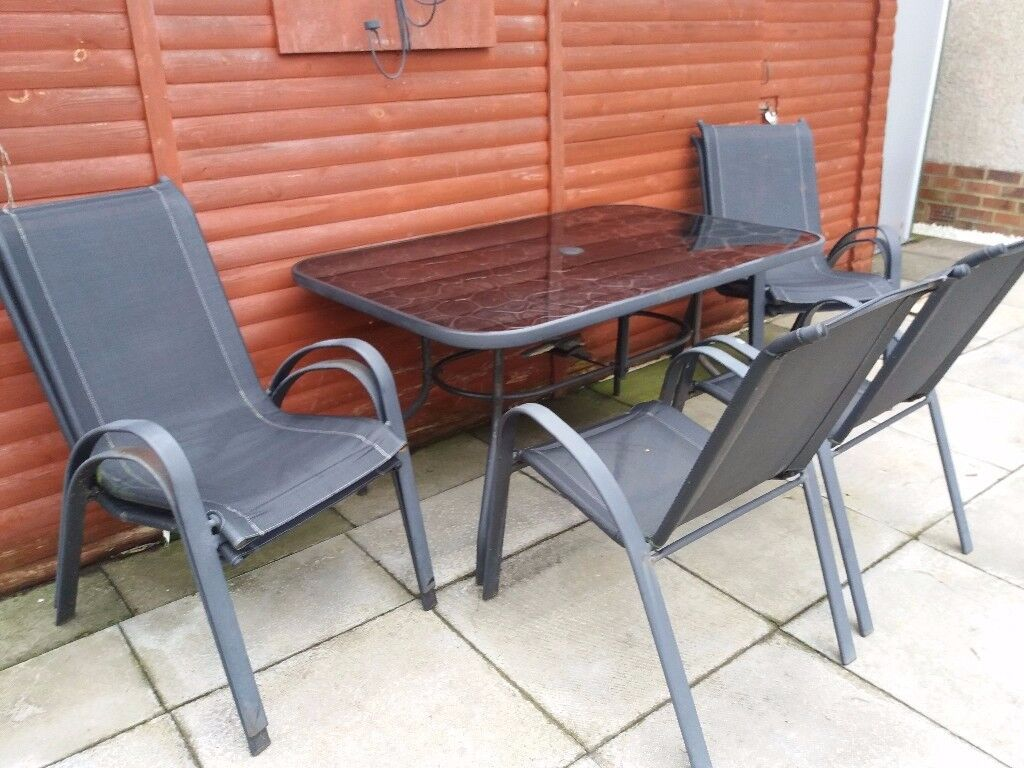 Home Sicily 6 Seater Patio Furniture Set £80 - Home Sicily 6 Seater Patio Furniture Set £80 In Dundee Gumtree