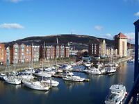Flat to rent Swansea Marina - Prime location - 1 bedroom - Excellent Views