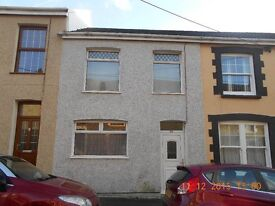 Two bed terraced property, located in Caerau, Maesteg.