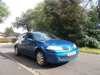 Renault Megane 1.5 dCi Dynamique 5dr, 30 ROAD TAX A YEAR 2008 **BARGAIN**