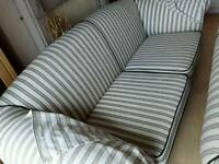 Lonely two and three seater settees, require a new home