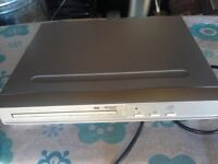 DVD player silver
