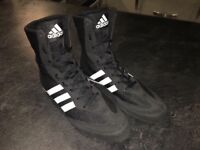 Adidas hog boxing boots size 9.5