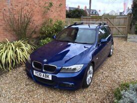 BMW 318 M Sport Blue estate