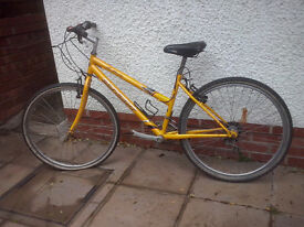 Bicycle, unstarted project, for spares or repair
