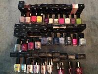 Avon nail varnishes £1 each