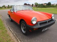 1980 MG MIDGET SPORTS CONVERTIBLE, STUNNING EXAMPLE