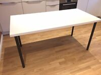 White Gloss Home Office Desk - IKEA