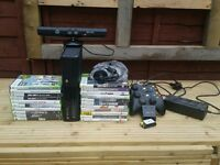 XBOX 360..500MGB WITH GAMES