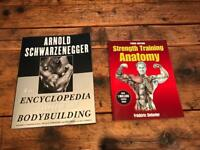 The New Encyclopedia of Modern Bodybuilding + Strength Training Anatomy Books (New)