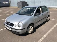2004 VOLKSWAGEN POLO 1.4CC EXCELLENT CONDITION FULL SERVICE HISTORY DRIVES GREAT WITH MOT
