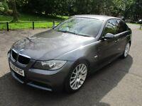 2008 BMW 320D 2.0 EDITION M SPORT 4 DOOR SALOON FSH FULL MOT LEATHER SAT NAV 6 SPPED LOVELY PX SWAP