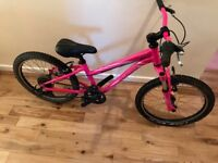 Specialized Hotrock 20 inch girls mountain bike with front suspension