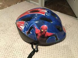Spider-Man Cycle Helmet