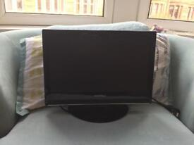 "20"" TV with DVD slot"