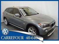 2012 BMW X1 xDrive28i SportPackage Cuir+Toit Panoramique