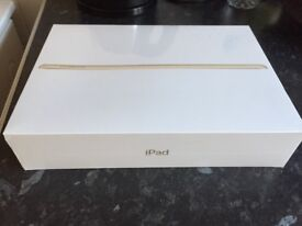 Apple IPad unwanted gift still has wrapping on it not been opened at all rose gold colour