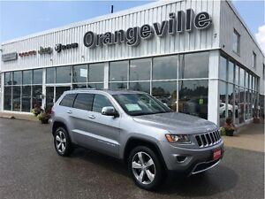 2015 Jeep Grand Cherokee LIMITED, V6, NAVIGATION, ROOF,