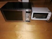 2 items: NEFF Microwave & Cookworks Toaster Over