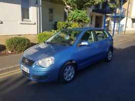 2005 VOLKSWAGEN POLO 1.4 AUTOMATIC BLUE