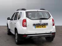 Dacia Duster LAUREATE DCI 4WD (white) 2013-07-17