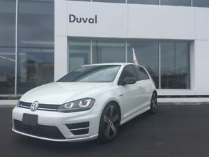 2016 Volkswagen Golf R TECHNOLOGIE - AWD NAVI MANUAL 2.0L TURBO