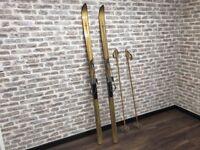 Kandahar Combi Skis & Poles