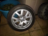LAND/RANGE ROVER SPORT HSE 19in ALLOYS 5X120 255/50 TYRES