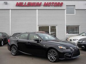 2015 Lexus IS 350 AWD / F-SPORT PKG / LEATHER / 16,000 KM