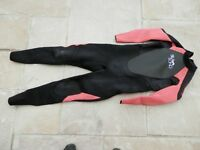 Billabong Ladies / Womens / Girls Launch 5/4/3mm Winter Surfing Wetsuit for sale size 14